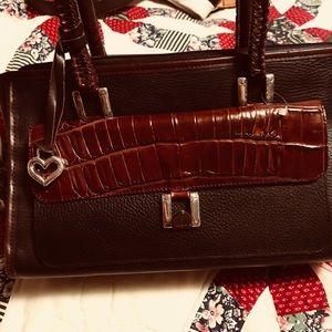 Brighton leather satchel